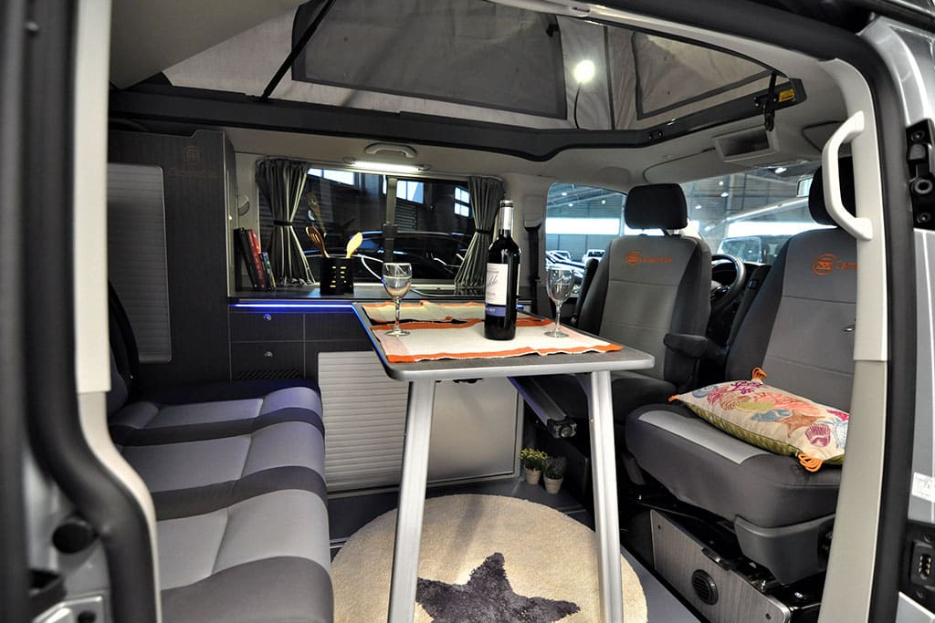 Presupuesto furgoneta camper
